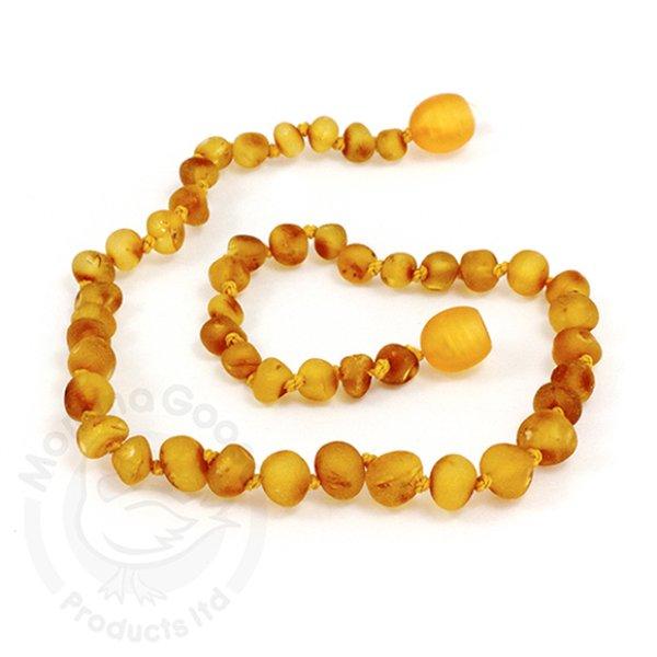 画像1: GEMSTONE YOUTH NECKLACE - Baroque Unpolished Honey (1)